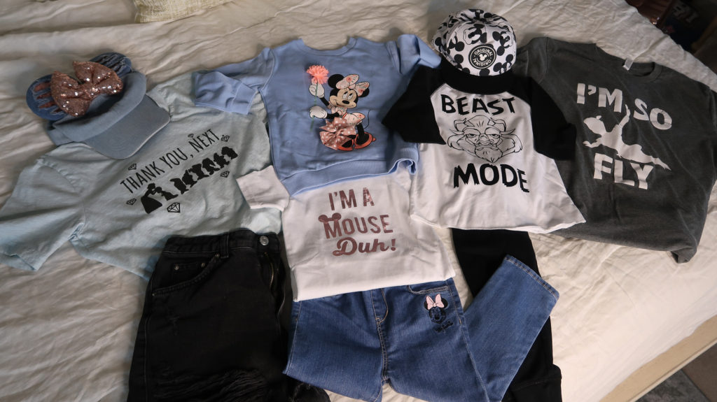 what to wear to disney magic kingdom sassy shirt I'm a mouse duh, thank you next, beast mode, I'm so fly Peter Pan shirt,  mom shirt brother sister coordinating shirts what to wear to disney for a family outfit ideas coordinating disney clothing wardrobe  outfits  Brianna K bitsofbri