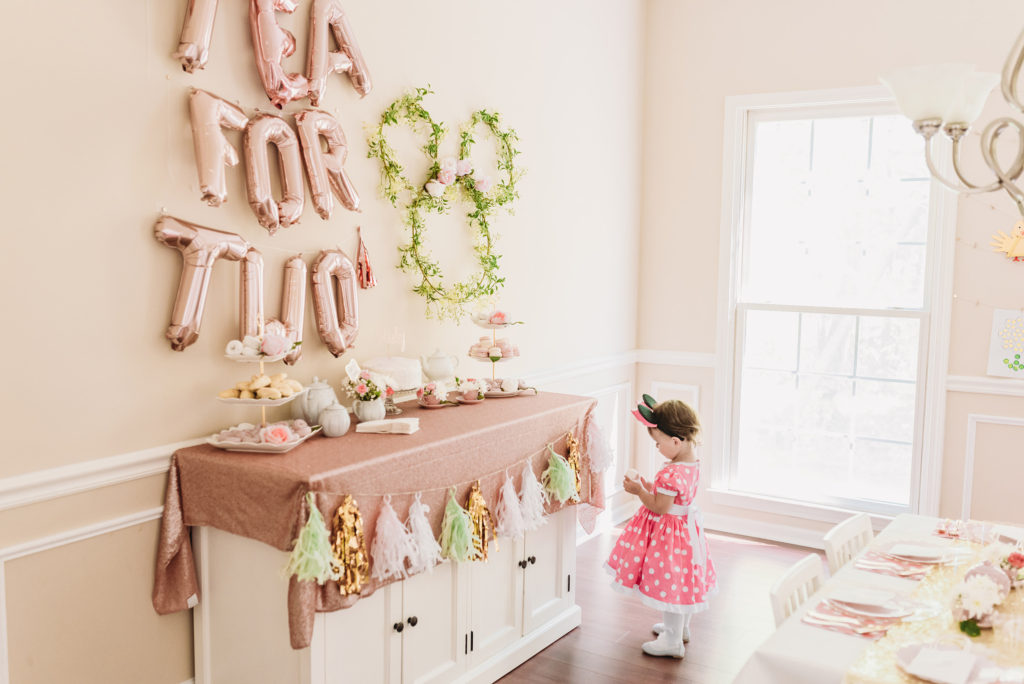TEA FOR TWO   PRESLEY'S SECOND BIRTHDAY DECORATIONS + PARTY IDEAS! Brianna K bitsofbri blog