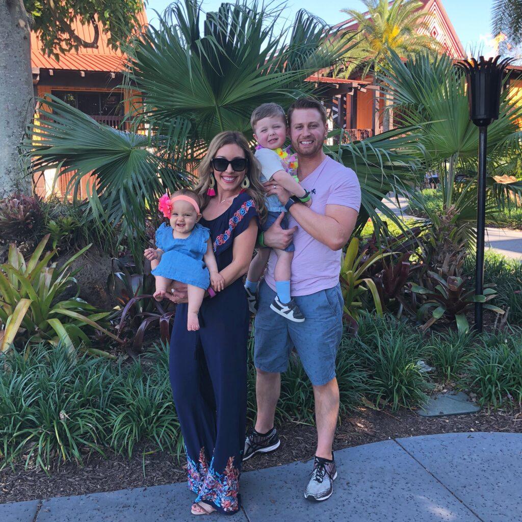 Brianna K Adam Landon Presley on vacation at Disney's Polynesian Resort at Walt Disney World. Where to stay at Disney World blog post by Brianna K bitsofbri blog