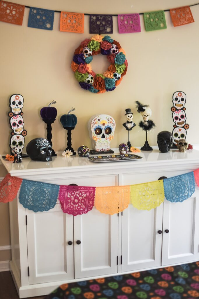 coco dia de los muertos coco decorations HALLOWEEN HOME DECOR | FALL 2019 HOUSE TOUR | BITS OF BRI CLEAN AND DECORATE WITH ME Brianna K CLEANING MOTIVATION DECOR INSPIRATION