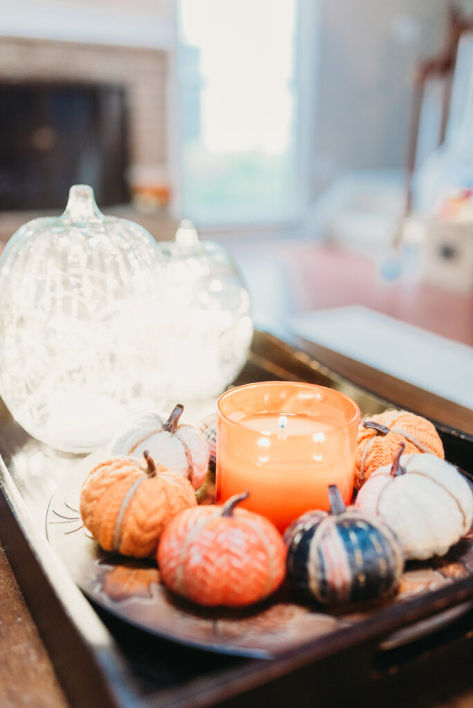fall decor ideas Brianna K bits of Bri bitsofbri with a pumpkin for fall clean and decorate with me 2019 fall decor fall decoration ideas