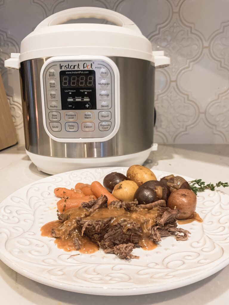 instant pot pot roast recipe Brianna K bitsofbri blog
