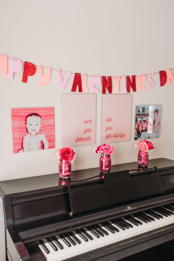 Valentine's Day decor decoration ideas for valentines Brianna k bits of Bri home